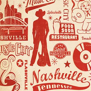 Nashville Canvas Artwork