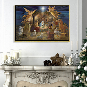 Nativity Scenes Art Prints