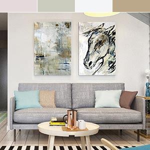 Natural Forms Canvas Wall Art