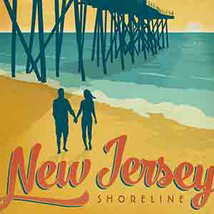 New Jersey Canvas Art