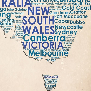 New South Wales Canvas Art Prints