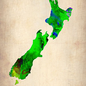 New Zealand Canvas Art Prints
