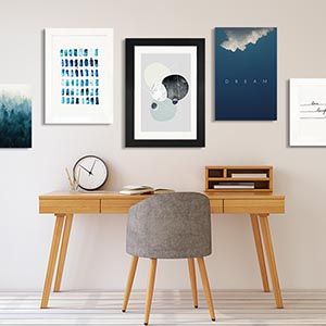 Nordic Simplicity Canvas Prints