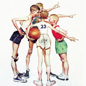 Norman Rockwell Canvas Art