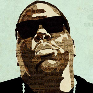 Notorious B.I.G. Canvas Wall Art