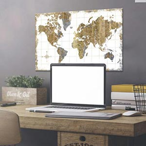 Office Canvas Prints