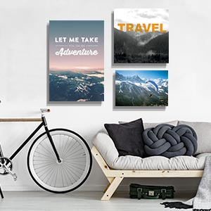 Outdoor Adventure Travel Canvas Prints