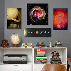 Outer Space Canvas Wall Art