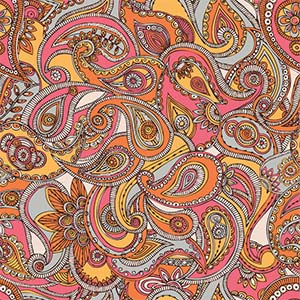 Paisley Canvas Art Prints