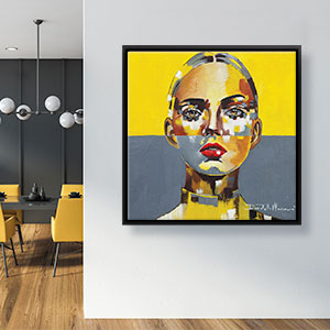Ultimate Gray & Illuminating-2021 Canvas Prints