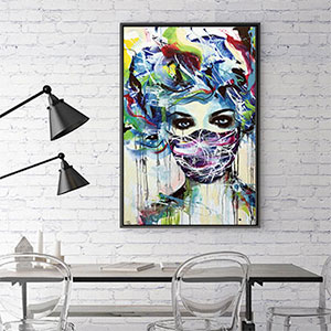 Vibrant Rebellion Canvas Wall Art