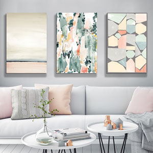 Pastels: The New Neutrals Canvas Art Prints