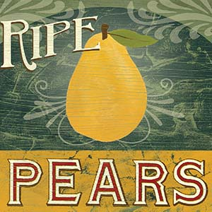 Pears Canvas Artwork