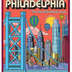 Philadelphia Travel-posters Canvas Prints