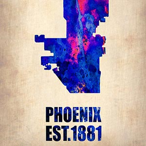 Phoenix Canvas Art