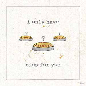 Pies Canvas Art