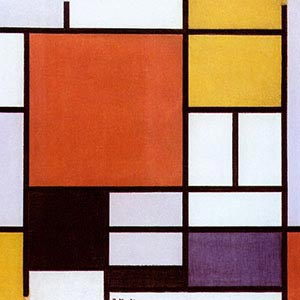 Piet Mondrian Canvas Wall Art