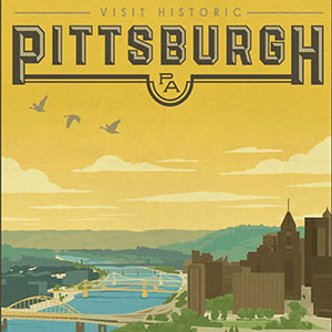 Pittsburgh Canvas Art Prints