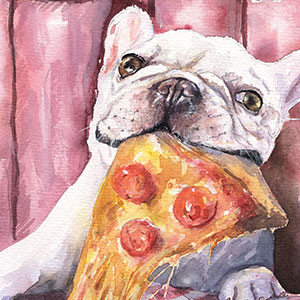 Pizza Canvas Art Prints