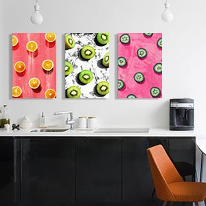 Pop Art Kitchen Canvas Art