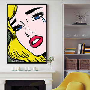 Pop Art Canvas Art Prints