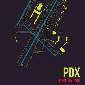 Portland Canvas Prints