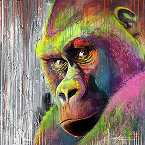 Primates Canvas Wall Art