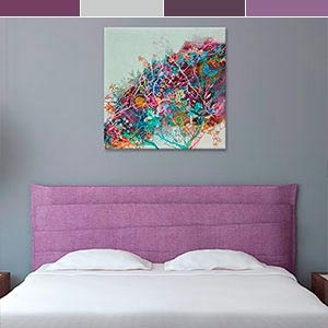Purple Passion Canvas Art Prints