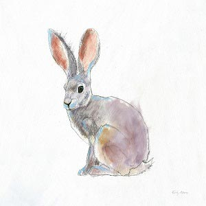 Rabbits Canvas Artwork