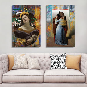 Re-Imagined Masters Canvas Art Prints