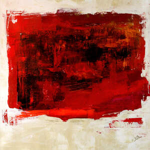 Red Abstract Art Prints