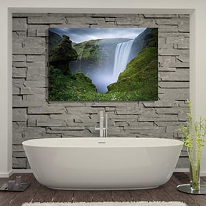Bathroom   Canvas Prints. Relaxing Spa Canvas Wall Art