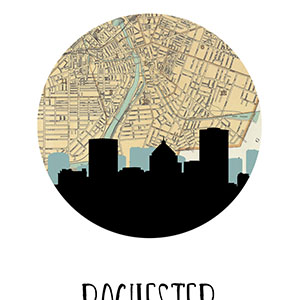 Rochester Canvas Wall Art
