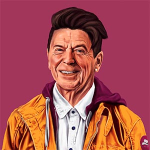 Ronald Reagan Canvas Wall Art
