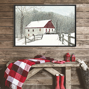 Rustic Winter Canvas Prints