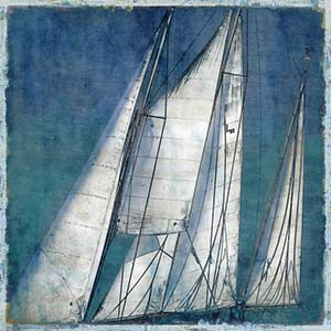 Sailboats Canvas Wall Art