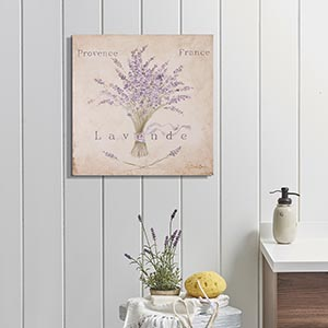 Sea Treasures Salle De Bain Canvas Artwork