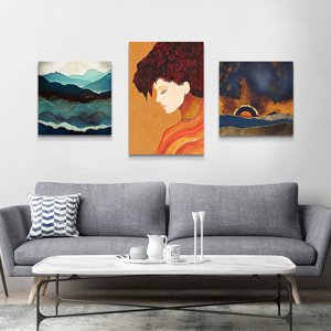 Pantone Trending  Fall Colors 2018 Canvas Wall Art