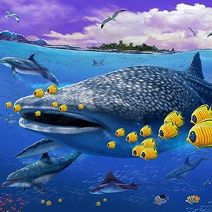 Underwater Canvas Art Prints