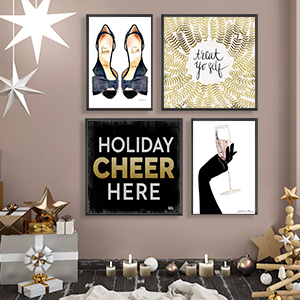 Seasonal Glam Canvas Art Prints