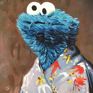 Sesame Street Canvas Art