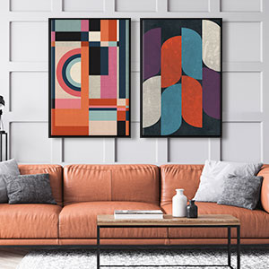 Shape Up Canvas Art Prints
