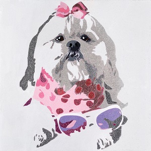 Shih tzus Canvas Artwork