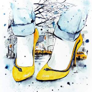 Shoes Canvas Art Prints