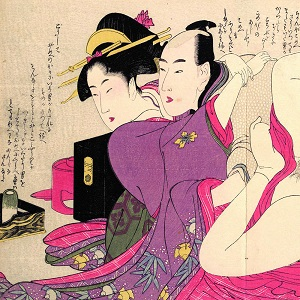Shunga Canvas Wall Art