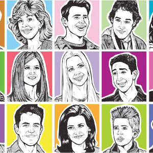 Sitcoms & TV Comedy Canvas Artwork