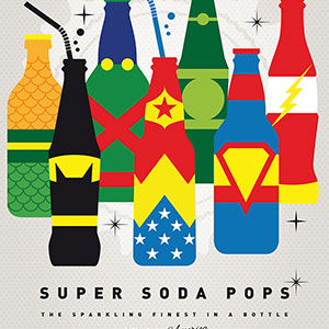 Soft Drinks Canvas Prints