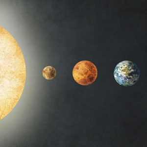 Solar System Canvas Artwork