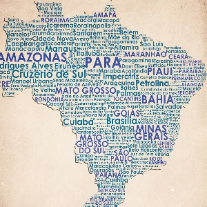 South America Canvas Prints