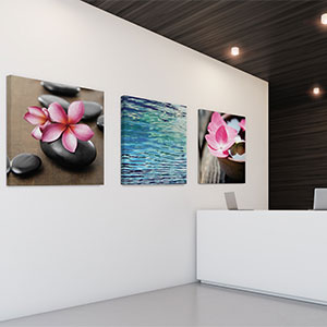 Spa Canvas Wall Art